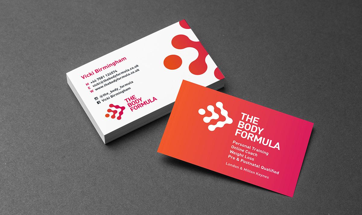 The Body Formula brand visual
