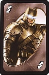 Batman vs Superman Uno Gray Reverse Card (Batman)