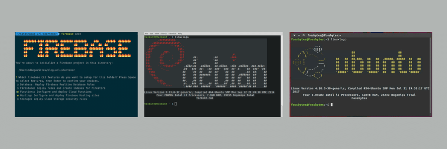 ASCII in Terminal