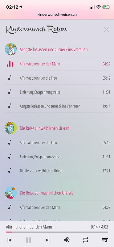 Musikplayer iOS