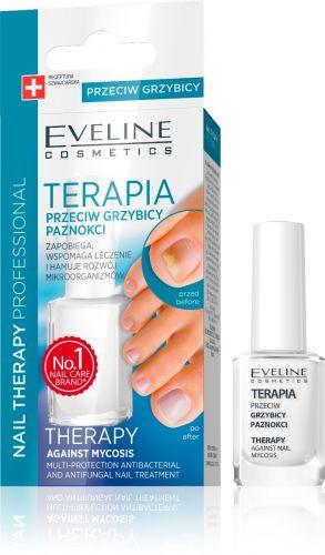 EVELINE NAIL THERAPY körömgomba elleni körömecsetelő 12 ml