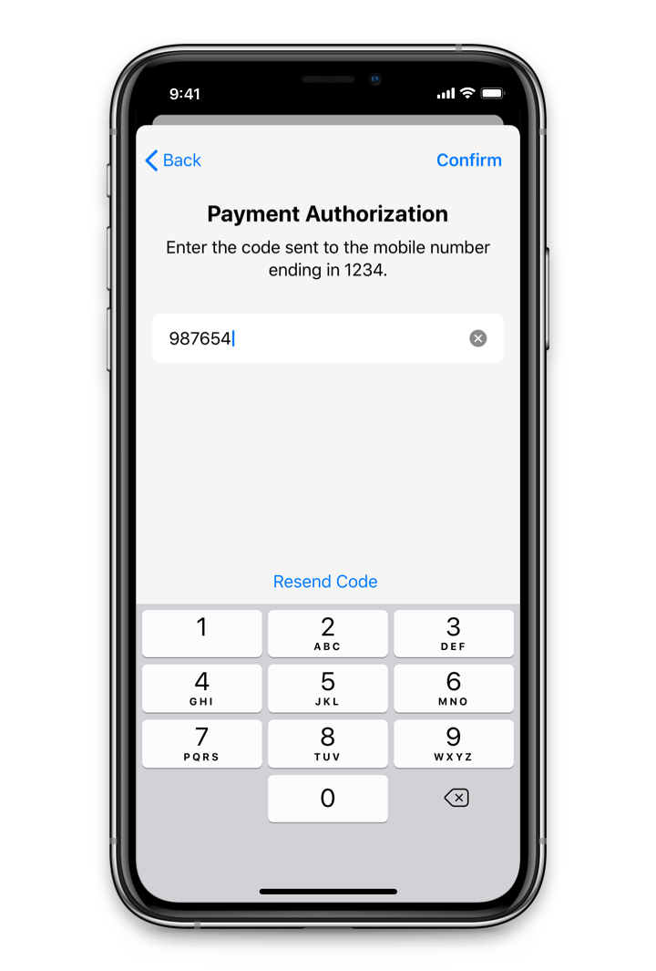 Multi-factor authorization for mobile payments.
