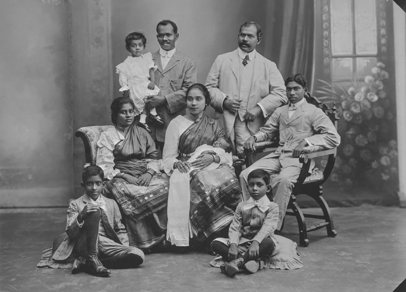 Indian family, 1910s