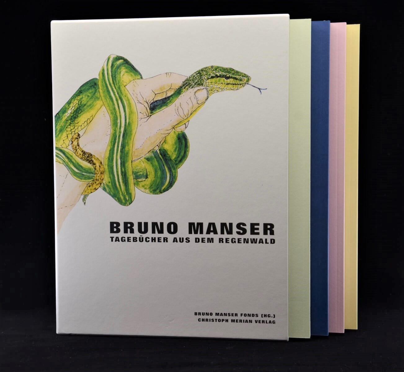Tagebücher aus dem Regenwald von Bruno Manser