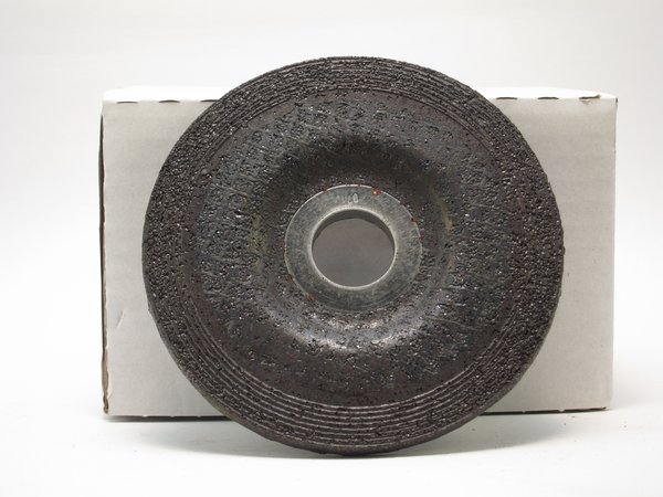 Angle grinder standard grinding wheel bottom with smooth arbor