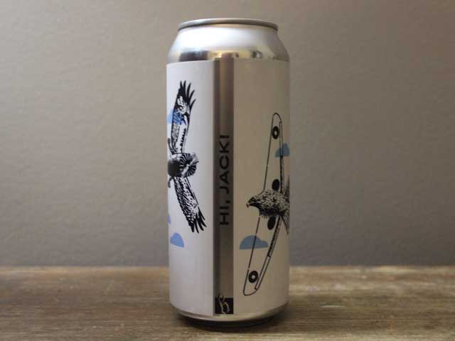 Hi, Jack!, a New England IPA brewed by Lone Wolfe Brewing Company