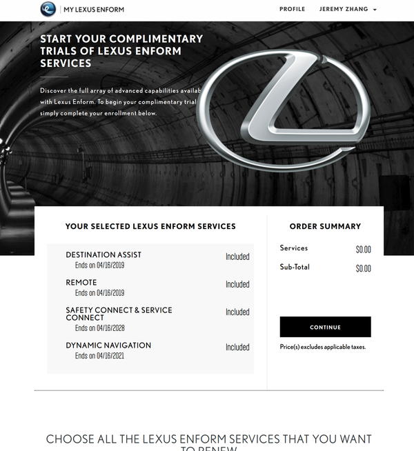 Enform Remote plan pricing