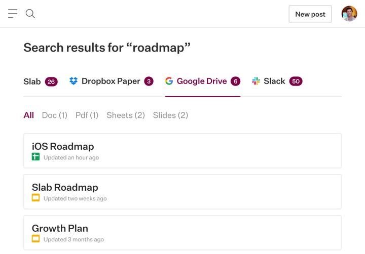 Search GDrive