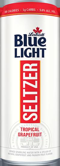 Labatt Blue Light Seltzer Trpoical Grapefruit