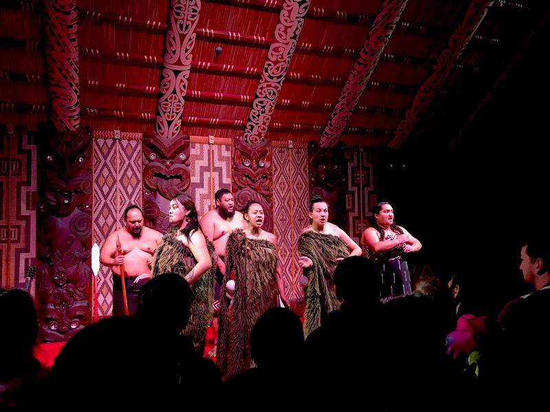 Traditional Maori song and dance
