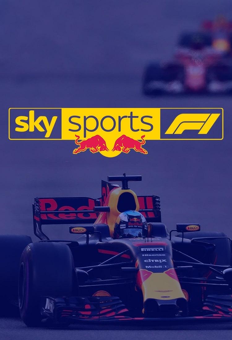 Sky X Red Bull - Formula 1 App Redesign