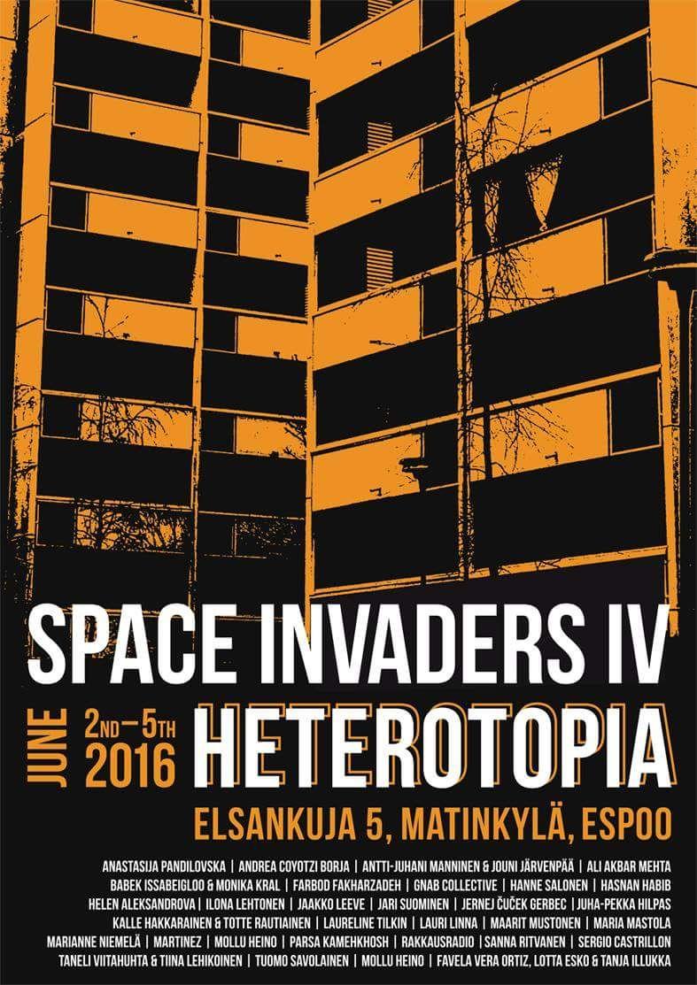 unbecoming ~ Space Invaders IV: Heterotopia