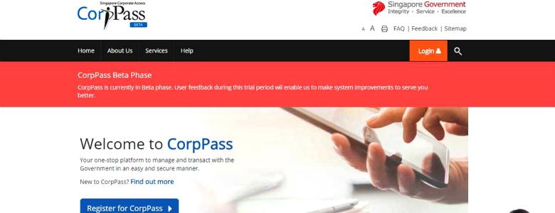 CorpPass the new Corporate Digital Identity