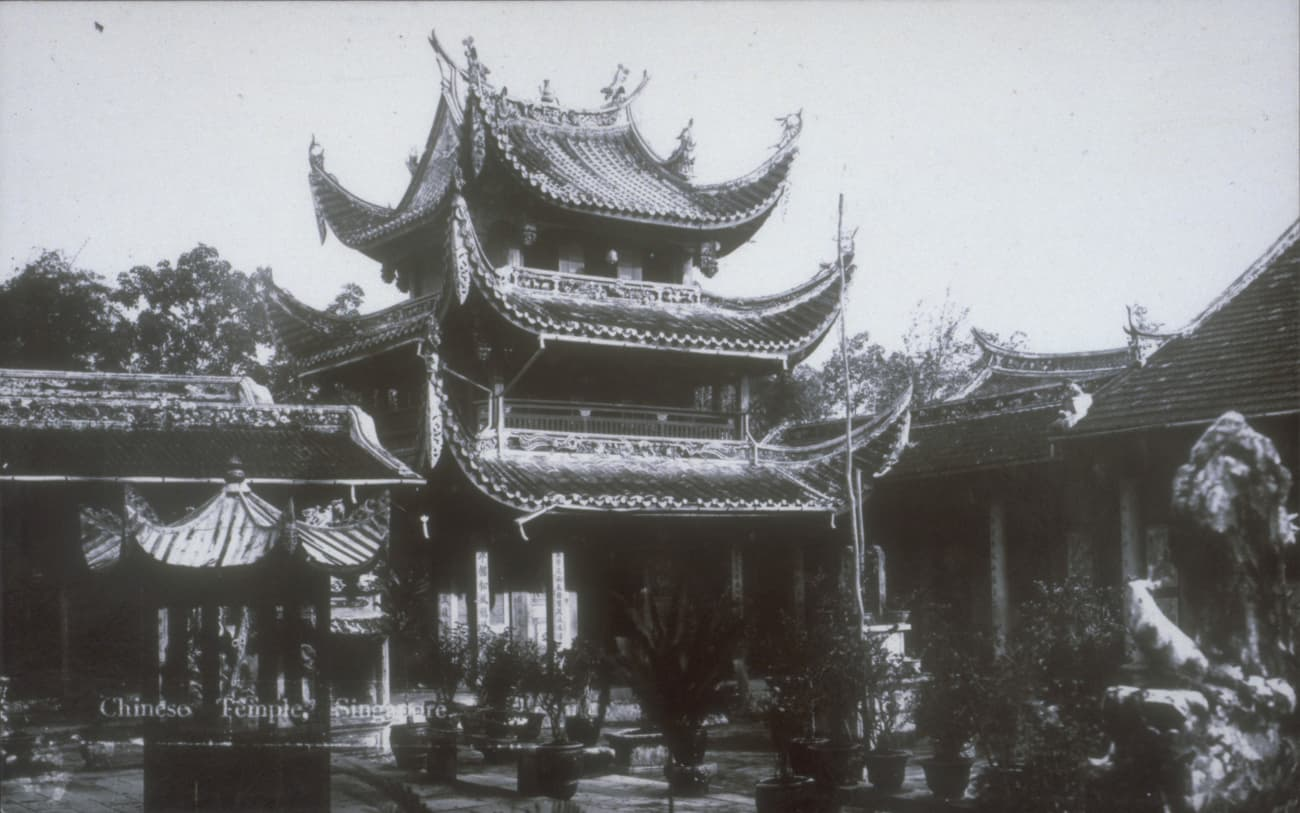 Siong Lim Temple, 1910s