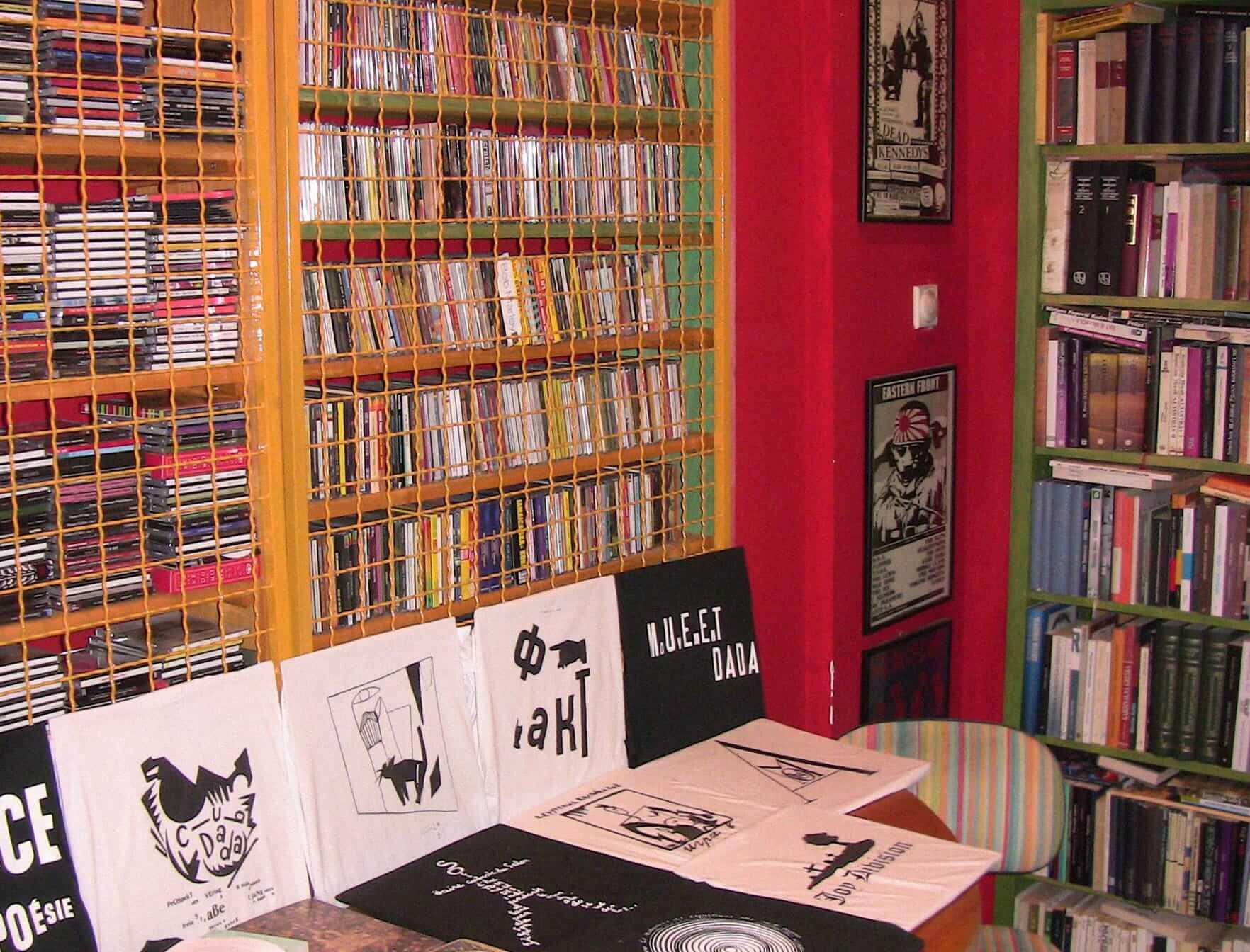 Книжный магазин Utopia, Сербия, Белград. Источник: fb.com/utopiabelgrade
