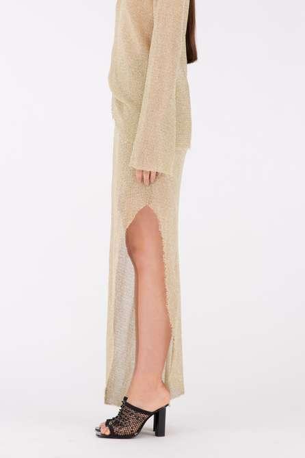 Gold Drape Skirt