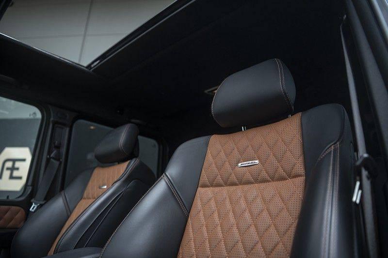 Mercedes-Benz G-Klasse 63 AMG G63 2017 Designo Interior afbeelding 4