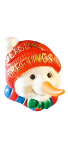 Snowman Face photo