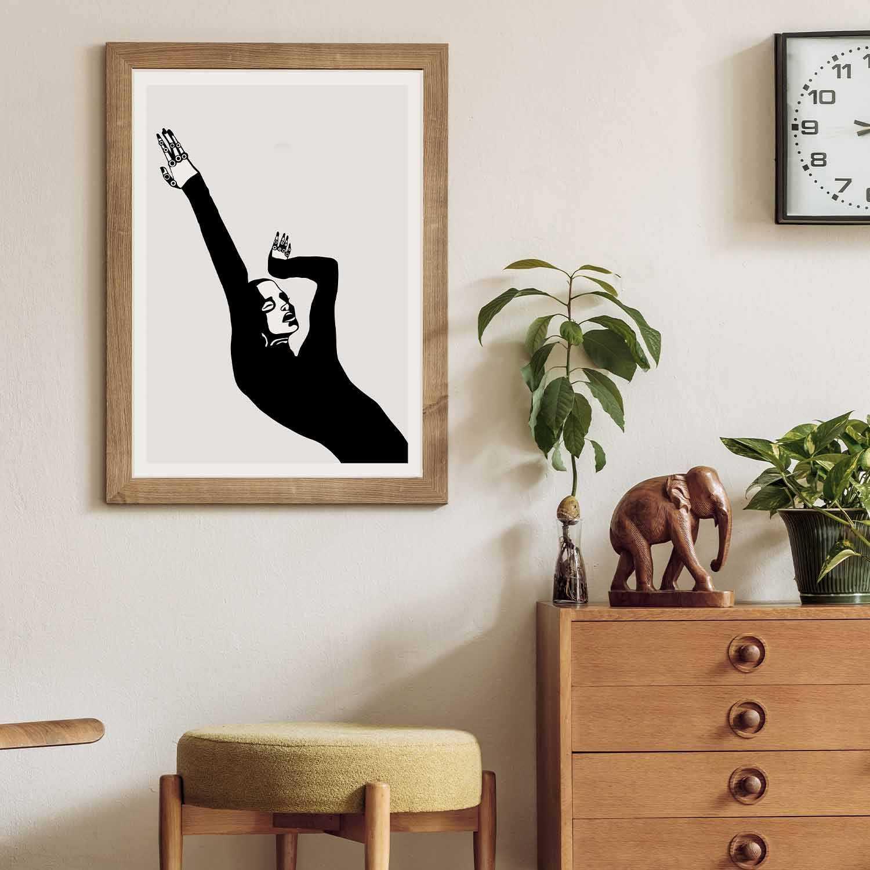 'Shape Of You' Giclée Art Print