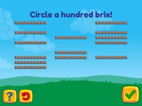 Grouping: Make a 100 by circling Math Game