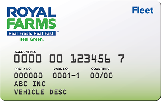 Royal farms card