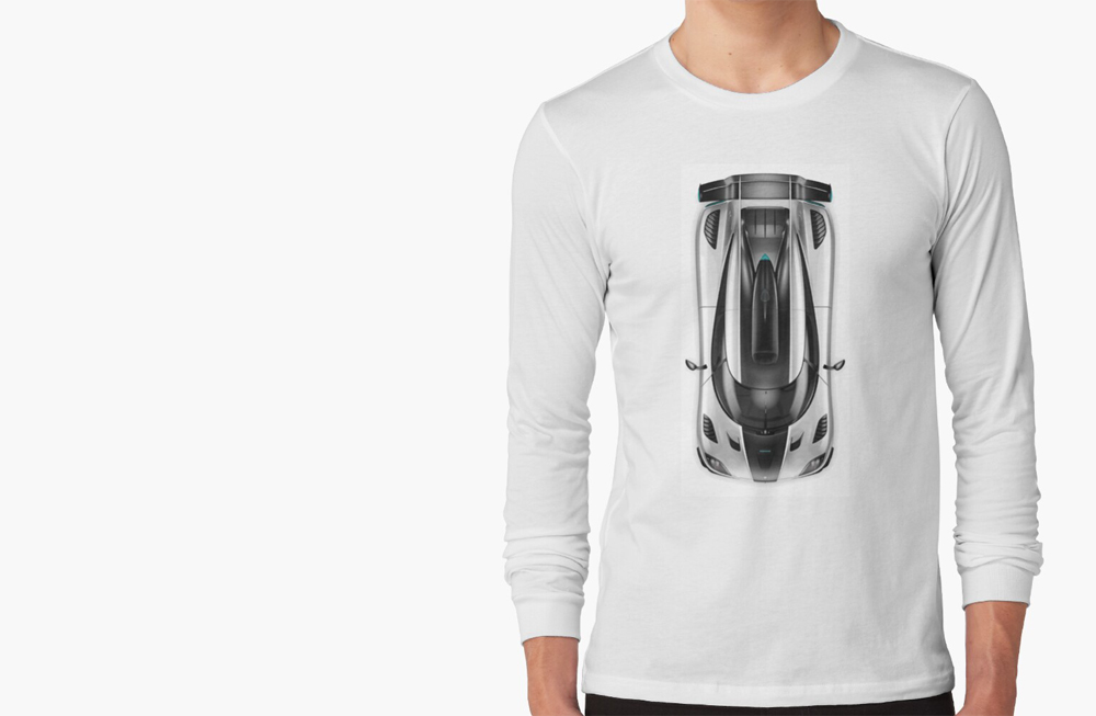 Men Long Sleeve T-Shirts by thespeedart