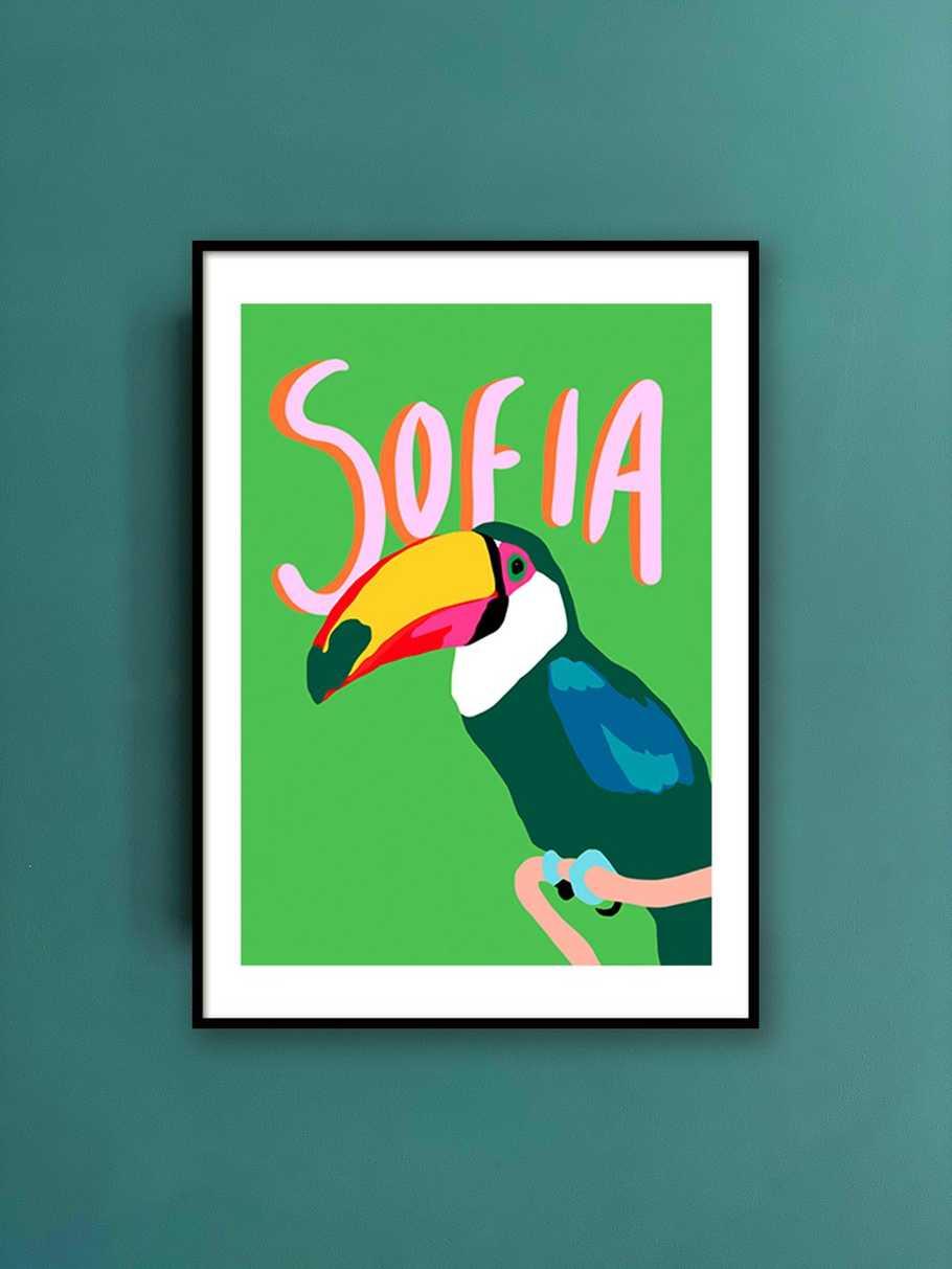 personalised-print-toucan