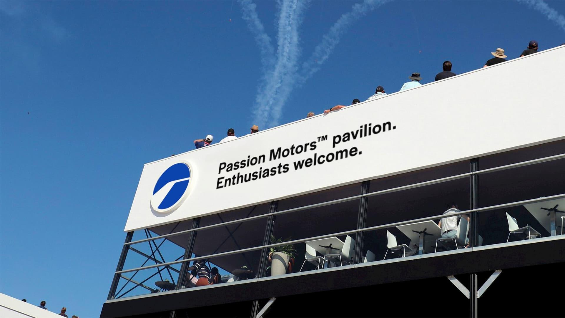 Passion Motors pavilion