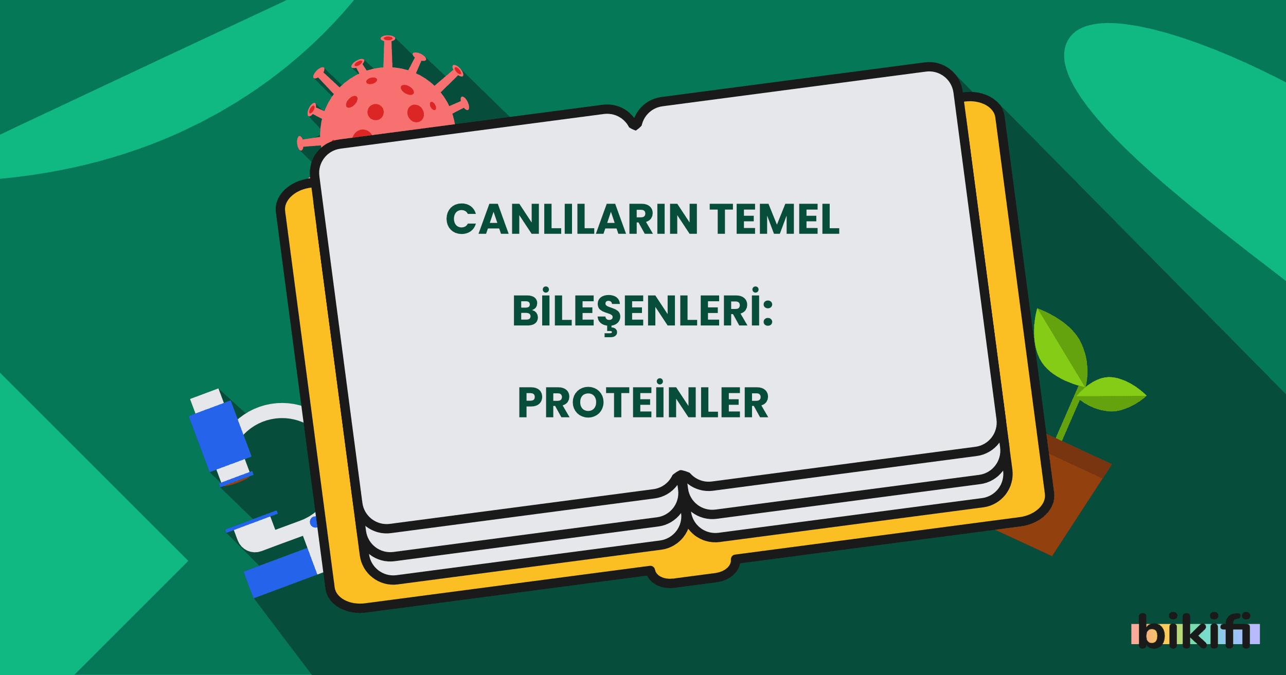 Canlıların Temel Bileşenleri: Proteinler