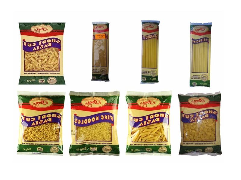 Sova Food's Pasta Range