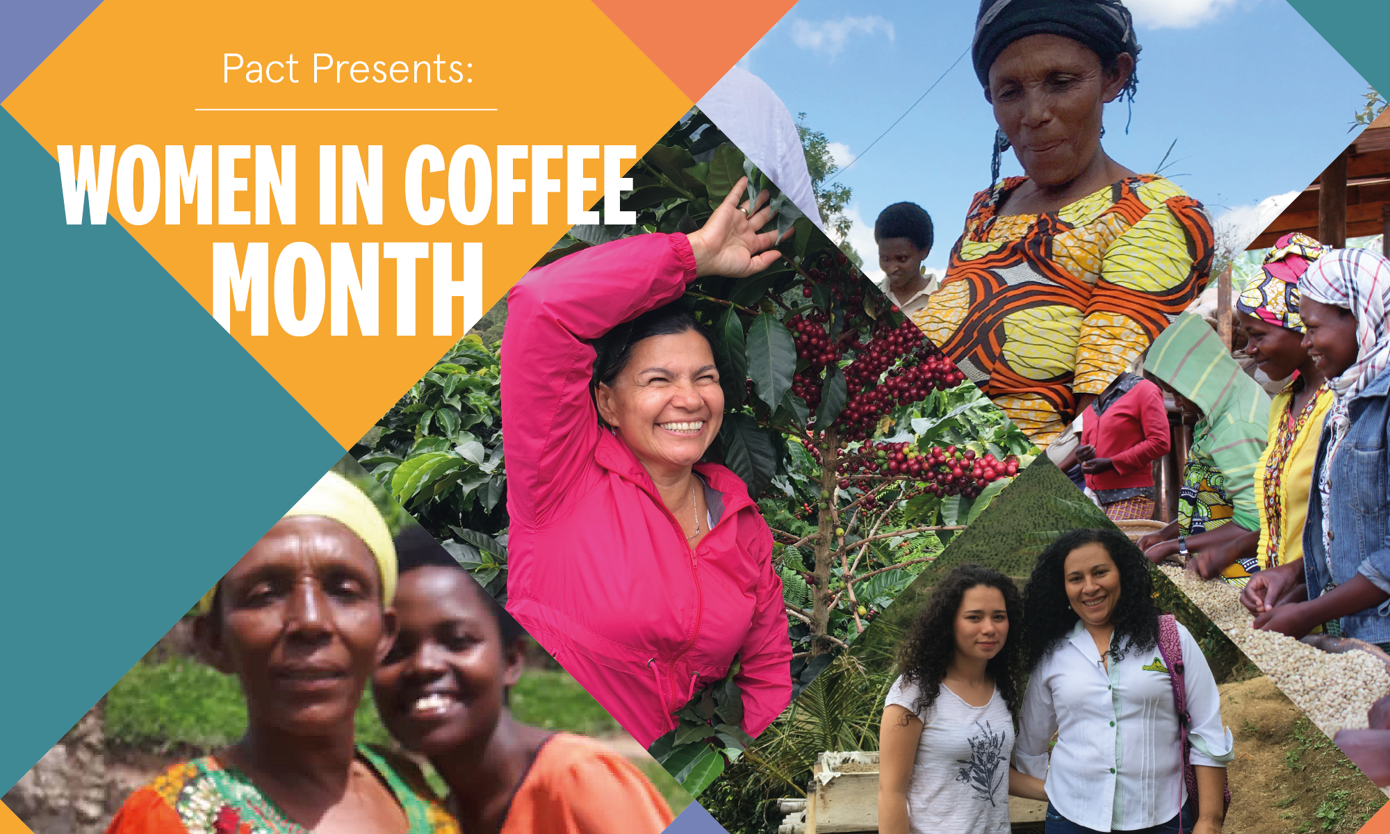 A Woman in Coffee month photo