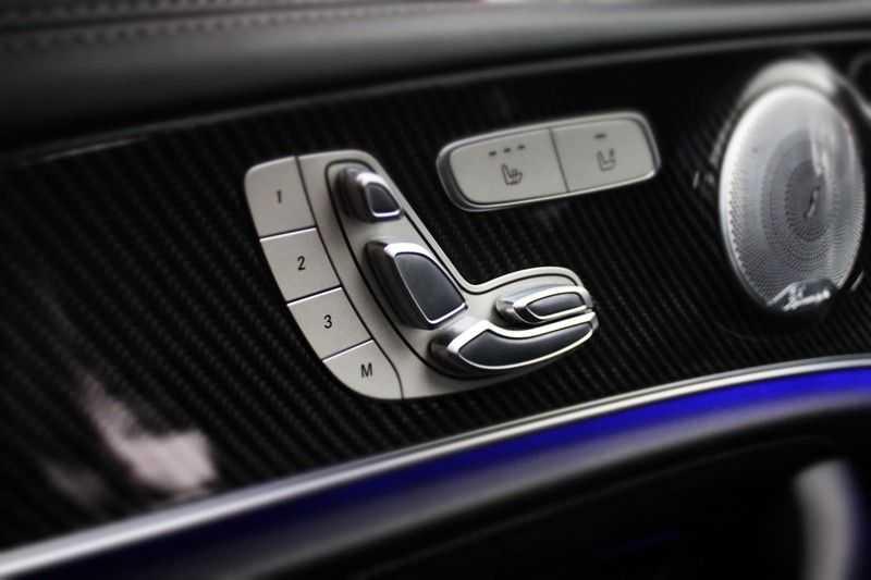 Mercedes-Benz E-Klasse 63 S AMG 4Matic-plus|kuipstoelen|pano|carbon afbeelding 9