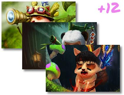 Teemo Lol theme pack