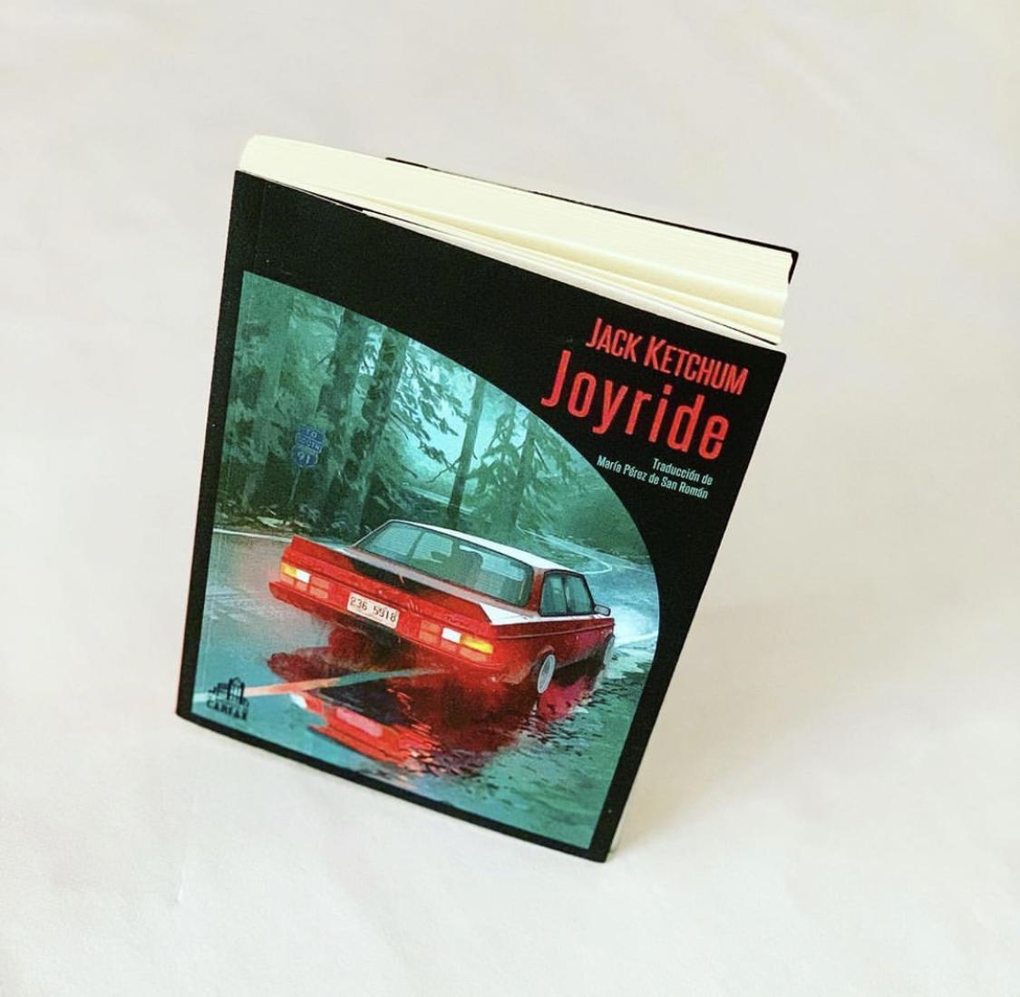 "Imagen de Reseña de ""Joyride"", de Jack Ketchum."
