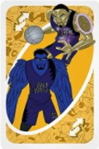 Space Jam: A New Legacy Yellow Uno Reverse Card