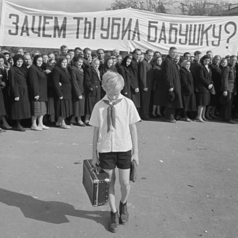 Каникулы у Кости Иночкина не задались. Кадр из фильма «Добро пожаловать, или Посторонним вход воспрещен» (1964)