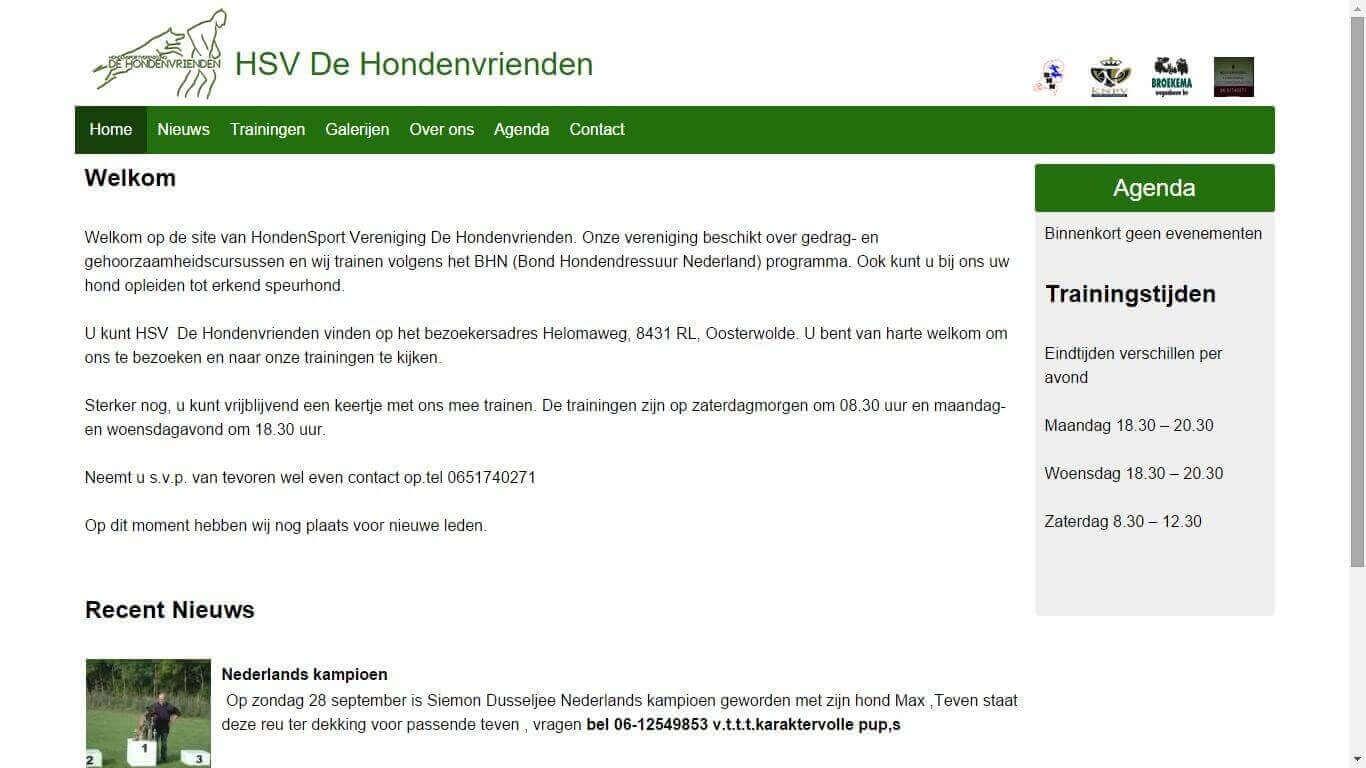 HSV De Hondenvrienden screenshot