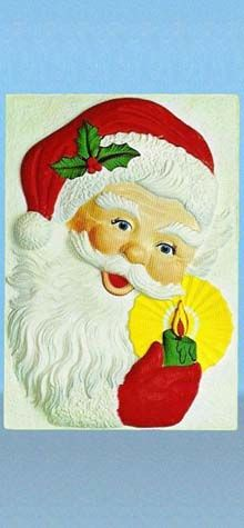 Santa Claus, Holding Candle photo