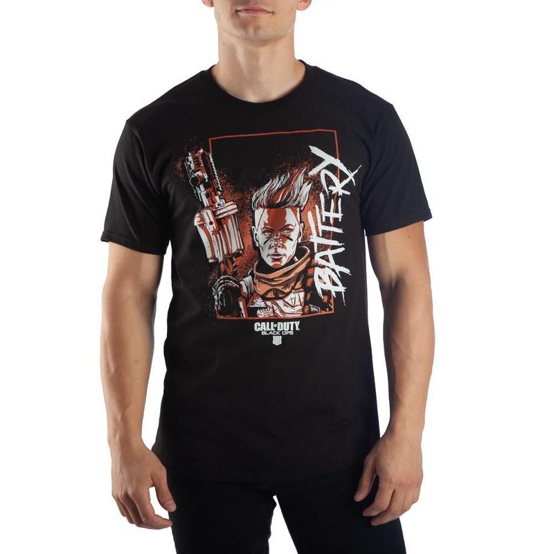 Call of Duty Battery Black Ops 4 T-Shirt Wear