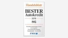 Ing DiBa Handelsblatt Auszeichnung