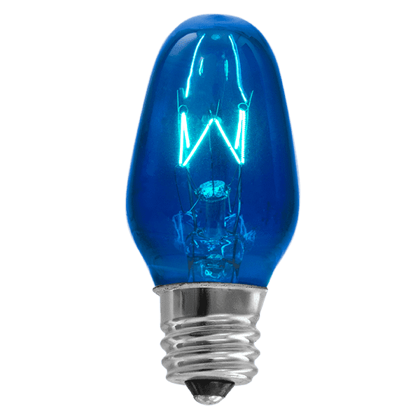 15 Watt Light Bulb - Blue