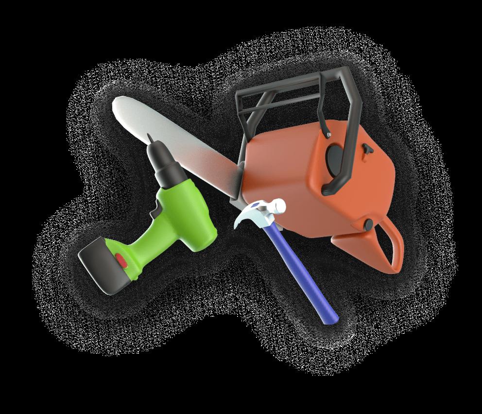 Equipment mashup