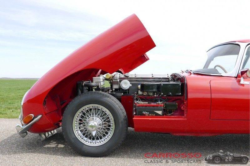 "Jaguar ""E"" TYPE G.T. 3.8 L Series 1 FHC Matching numbers FIVA ID orig. NL-Auto afbeelding 11"