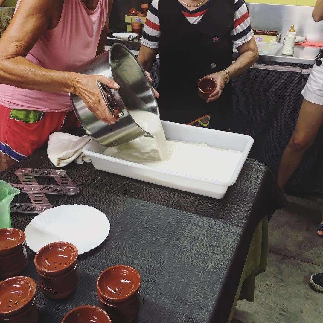 Cheese making Photo 1