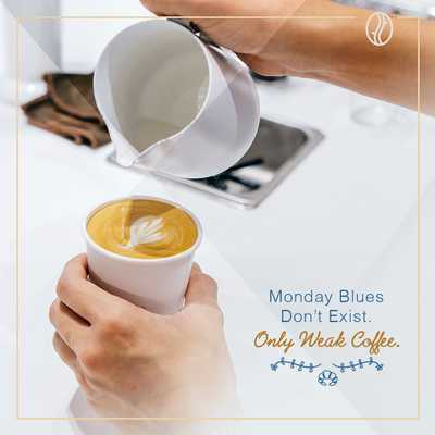 Don't let the Monday Blues get you down. Nothing is more comforting than a good cup of WOT coffee to get the week started right ☀️  • • •  #whatsontapkl #WOT #plazamontkiara #montkiara #coffeeculture #baristadaily #coffeemovement #montkiaracafe #cafehopkl #cafekl #malaysiancafes