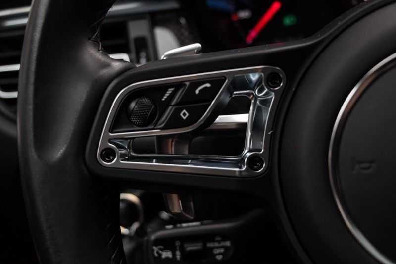 "Porsche Macan 3.0 S 354pk PDK Black Design Nieuw Model Luchtvering Panoramadak SportChrono ACC Sportleder+Memory Keyless Full-Led Navi/High Privatglass AppleCarplay 21""Turbo Pdc afbeelding 12"