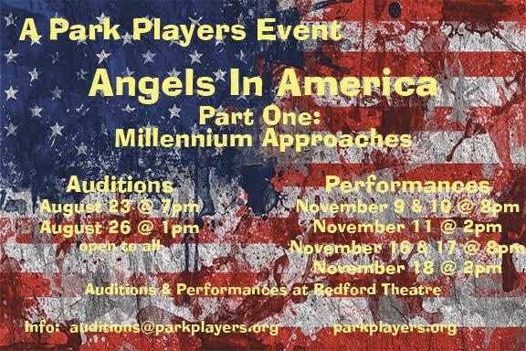 Angels in America flier