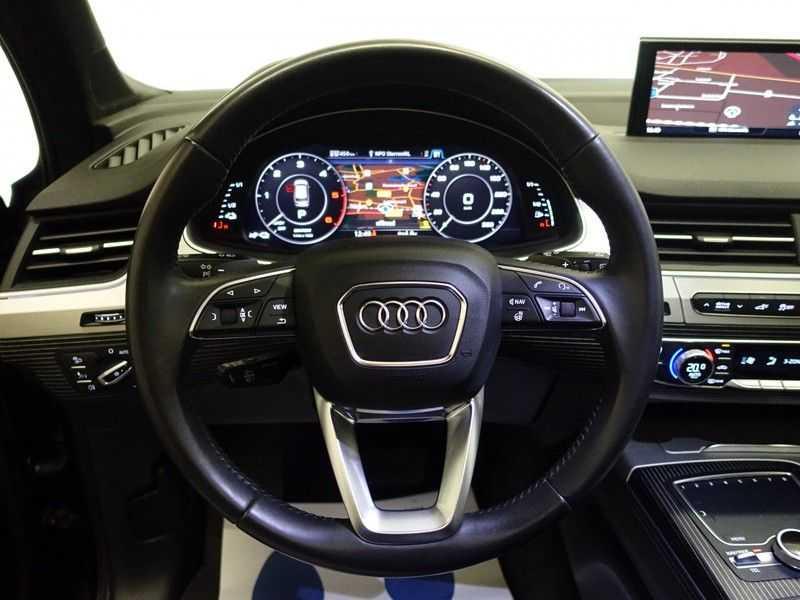 Audi Q7 3.0 TDI e-tron 374pk Quattro Sport S-Line Aut- Panodak, Bose, Leer, Camera, Virtual Cockpit afbeelding 10