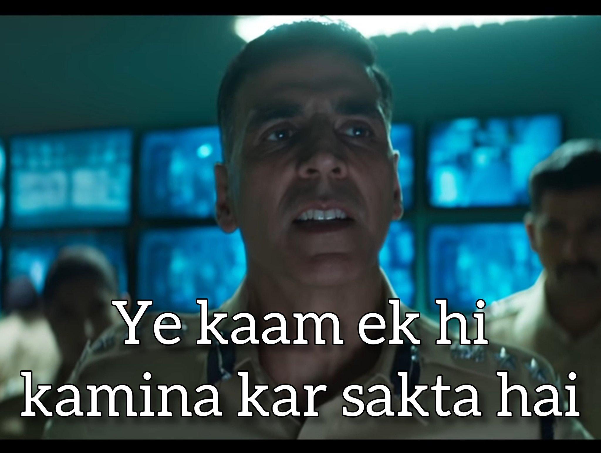 Akshay Kumar in Sooryavanshi trailer. Ye Kaam Ek Hi Kamina Kar Sakta Hai