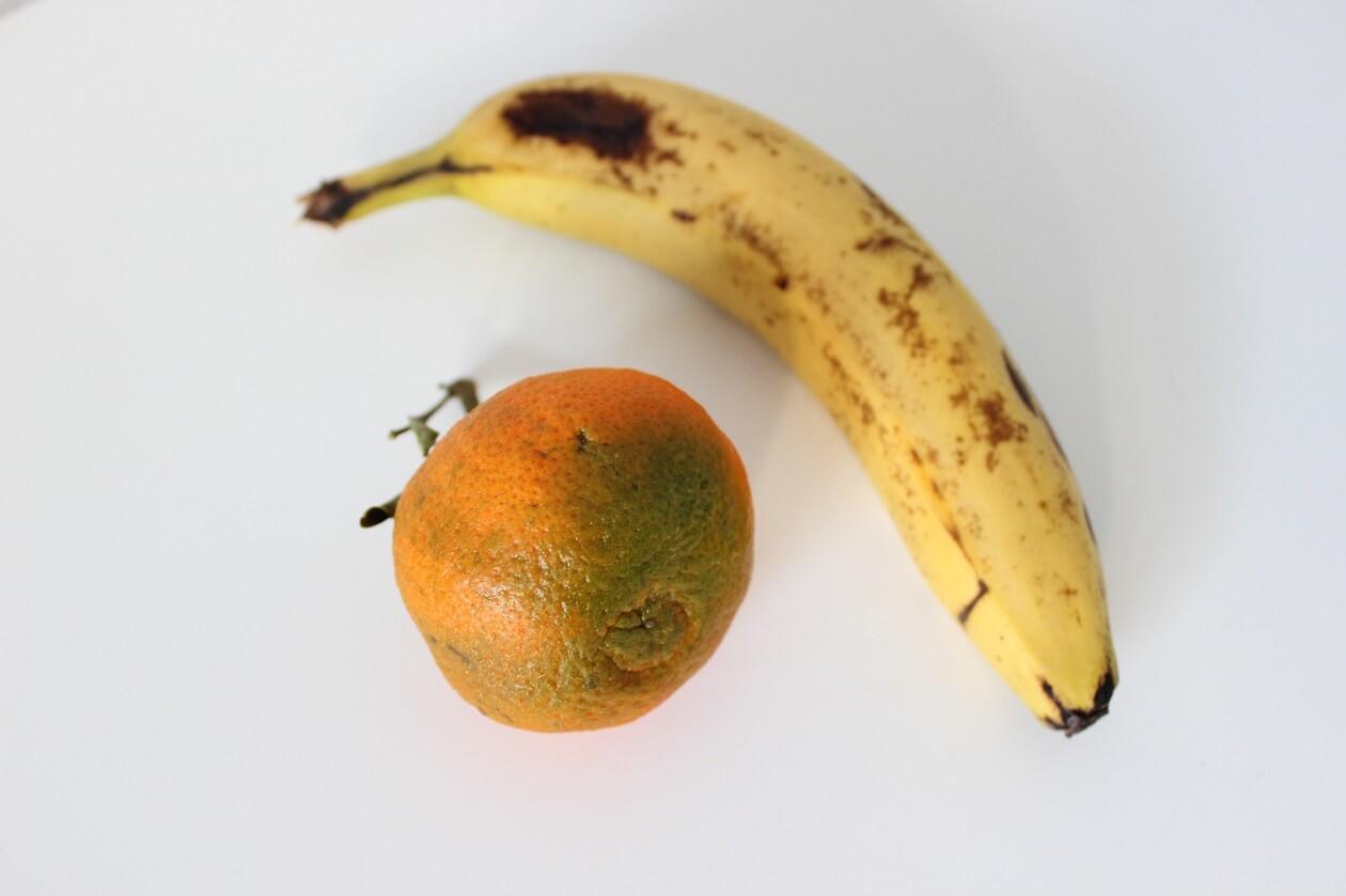 Auch Obst und Gemüse mit Stellen kaufen
